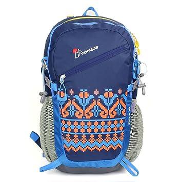 MOUNTAINTOP Mountain Top 28L Mochila para Camping/Senderismo/Viajes/schultasche Azul Azul: Amazon.es: Deportes y aire libre