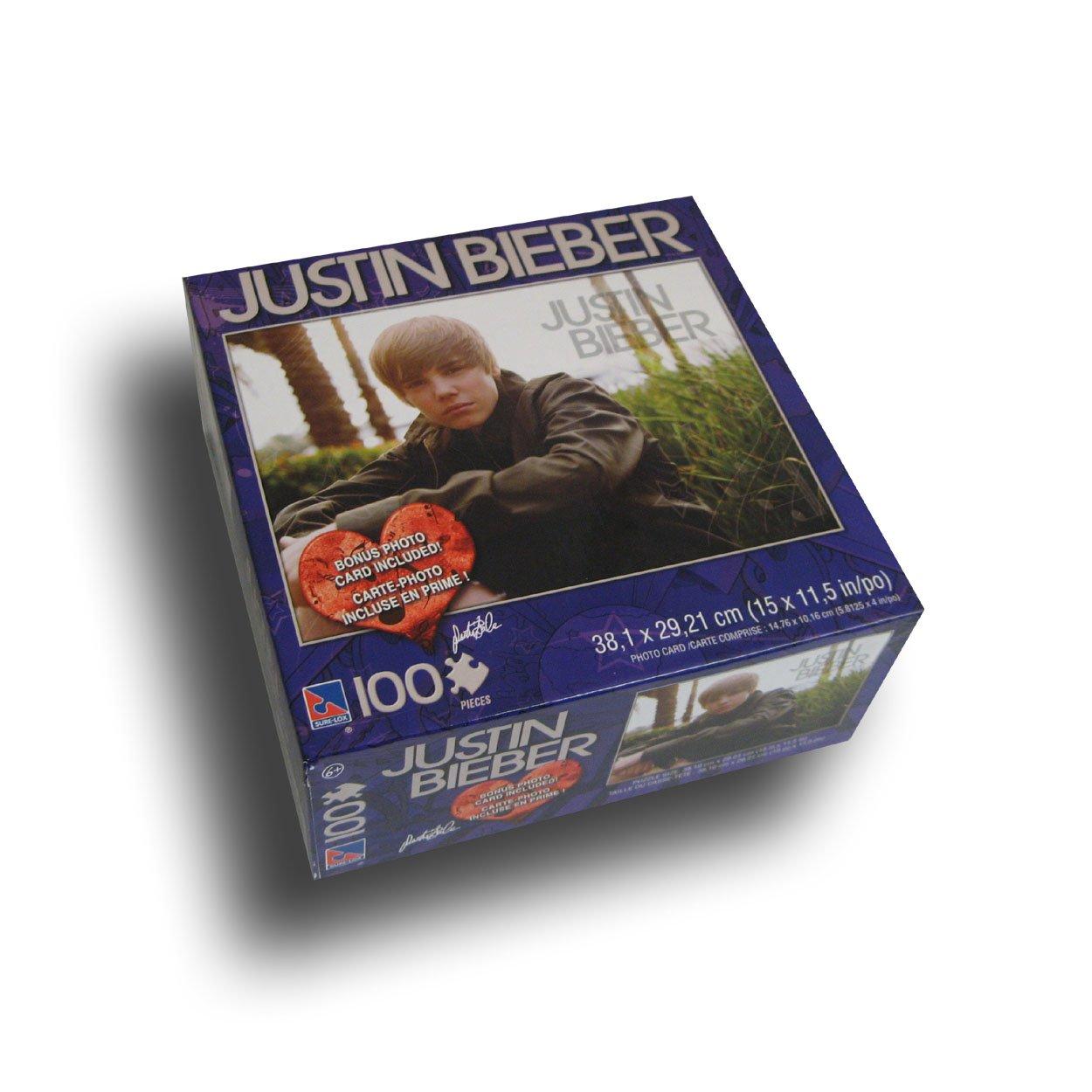 Uncategorized Justin Bieber Puzzle justin bieber 100 piece puzzle with bonus card high quality quality