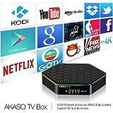 AKASO T95Z PLUS TV BOX 4K KODI Pre-installed Android 6.0 Amlogic S912 Octa Core 2GB DDR3 16GB EMMC Flash 2.4G 5G Dual WIFI Band 1000M LAN Ethernet Bluetooth 4.0 3D Streamming Media Player