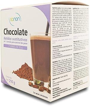 SANON - SANON Batido Sustitutivo Sabor Chocolate 7 sobres de 30 gr ...