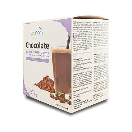 SANON - SANON Batido Sustitutivo Sabor Chocolate 7 sobres de ...