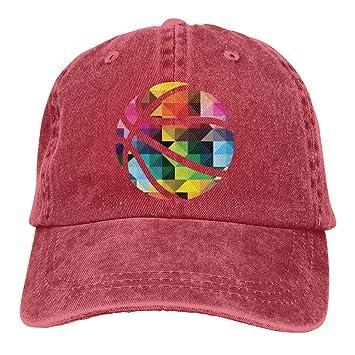 Xdevrbk Baloncesto Unisex Washed Fashion Cowboy Hat Denim ...