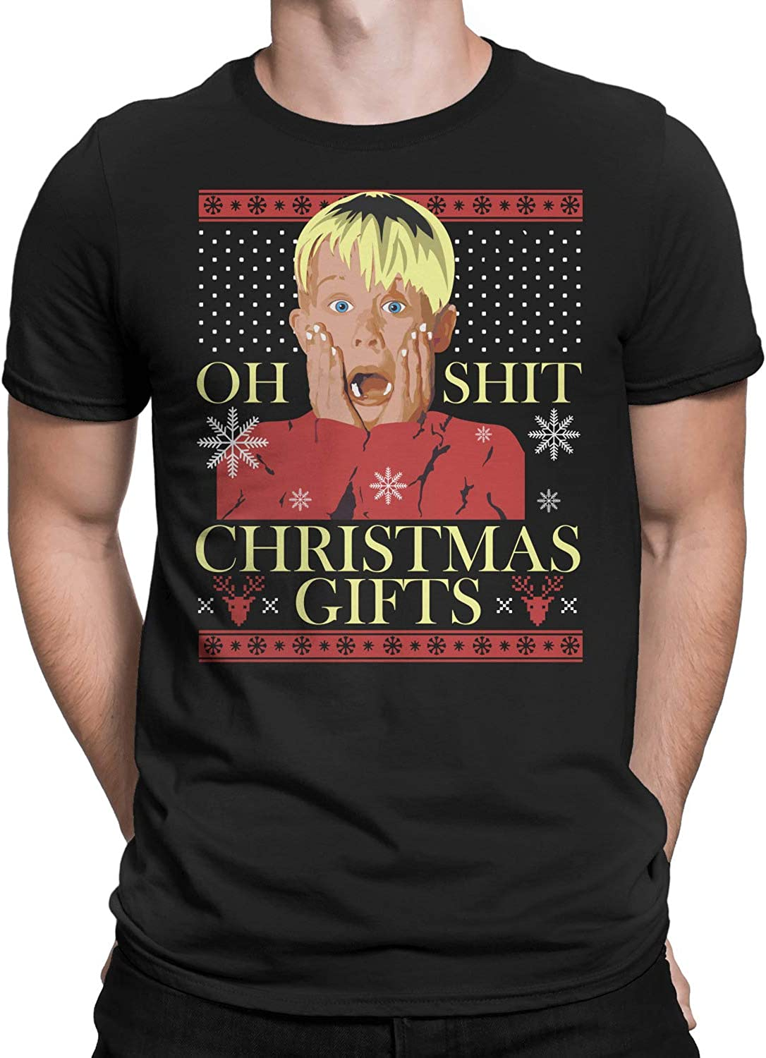 Oh Shit Sweater for Christmas T-Shirt