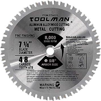 "Toolman Circular Saw Blade Segmented Universal Fit 6/"" For Masonry"
