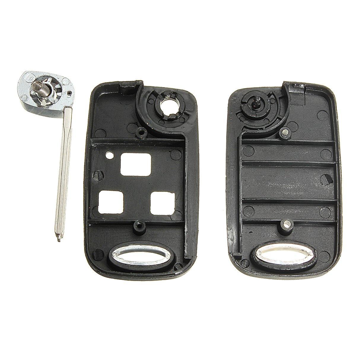 XZANTE Caso de Clave Remoto de 3 Botones de Conversion del tiron para Lexus IS200 LS400 RX300 GS300