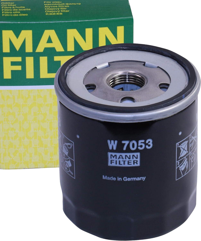 1 Filtre à Huile MANN-FILTER W 7053 CITROËN DAF DAIHATSU FIAT FORD NISSAN PEUGEOT JCB