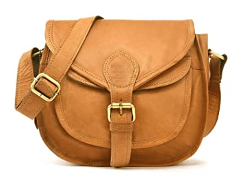 5f59548c85a2 Image Unavailable. Image not available for. Colour  Mk Bags Leather Brown  Women s Cross-Body Purse Sling Bag