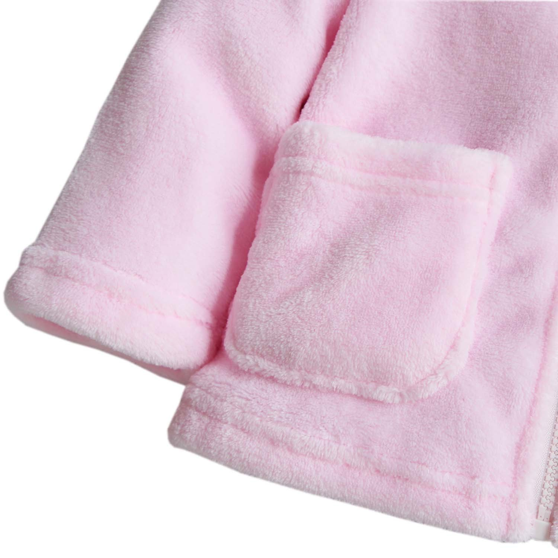 SUPEYA Infant Boys Girls Bear Ear Hooded Outerwear Coats Warm Long Sleeve Jacket