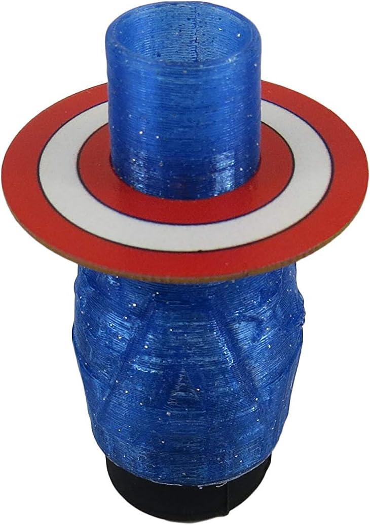 Boquilla Capitán América Personalizada Para Cachimba/Shisha/Vaper/Accesorio para Cachimba Capitán América/Boquilla 3D Para Cachimba.