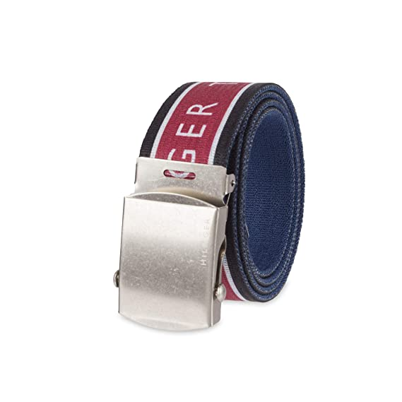 a188102c8a59 Tommy Hilfiger boys Casual Fabric Web Belt Belt  Amazon.ca  Clothing    Accessories