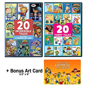 Amazon.com: PBS Kids: 40 Complete Episodes DVD Collection ...