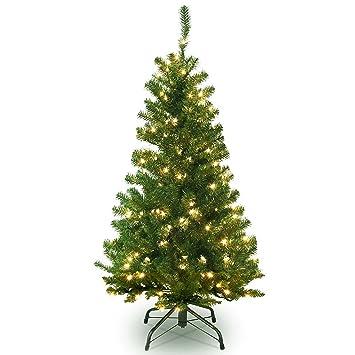 Amazon.com: 4 FT Christmas Tree W/ 80 LED Lights , 4 Foot Xmas ...