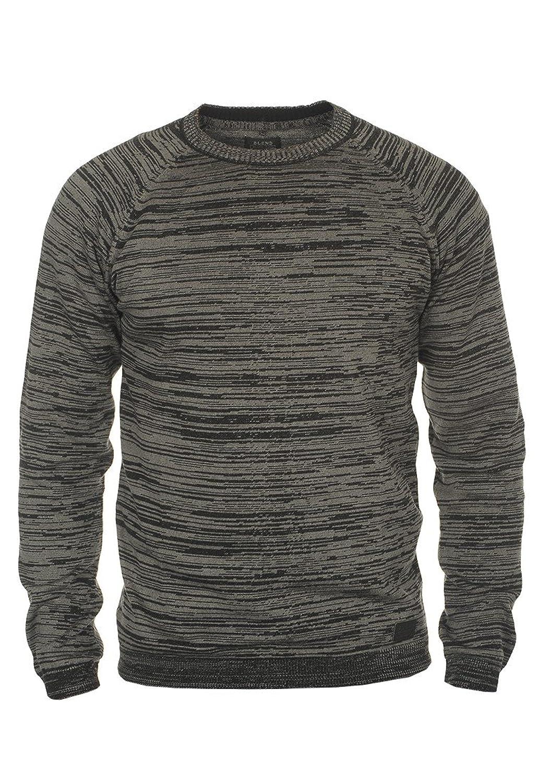 BLEND 20701699ME Men's Knit Pullover Sweater