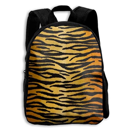 2ce393bc67 Zx7CAp3 Animal Print Tiger Black Gold School Backpack For Kids Teen Boys  Girls  Amazon.co.uk  Kitchen   Home