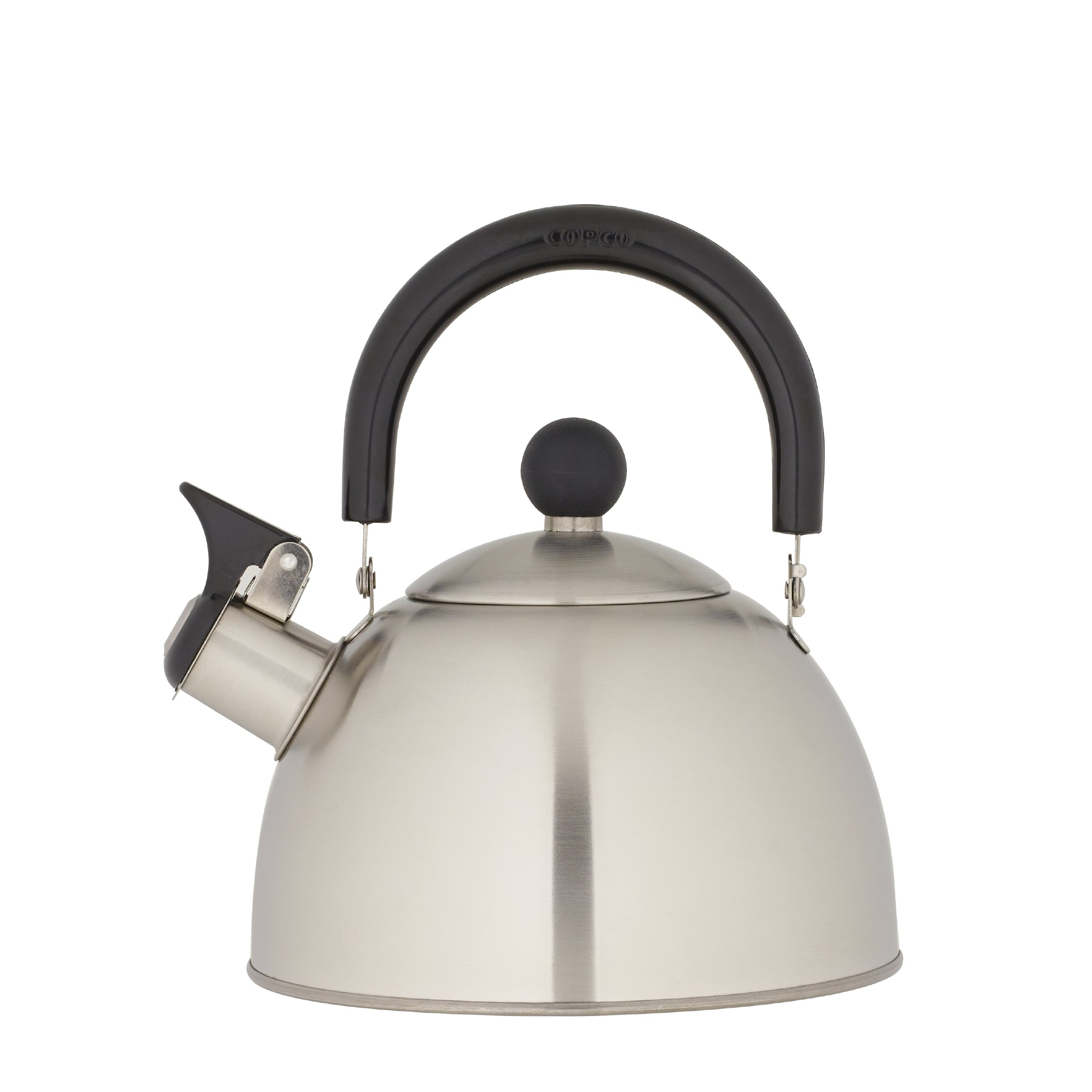 Copco 2503-0300 Kettering Brushed Stainless Steel Tea Kettle, 1.3 Quart by Copco