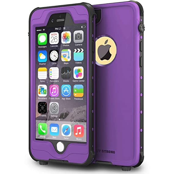 best service f3764 32bd9 iPhone 6 Plus/iPhone 6s Plus Case, ImpactStrong Waterproof Case  [Fingerprint ID Compatible] Slim Full Body Protection for Apple iPhone 6  Plus & 6s ...
