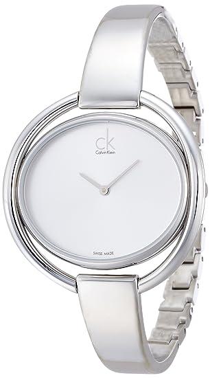 Calvin Klein – Reloj de Pulsera analógico para Mujer Cuarzo Acero Inoxidable k4 F2 N116
