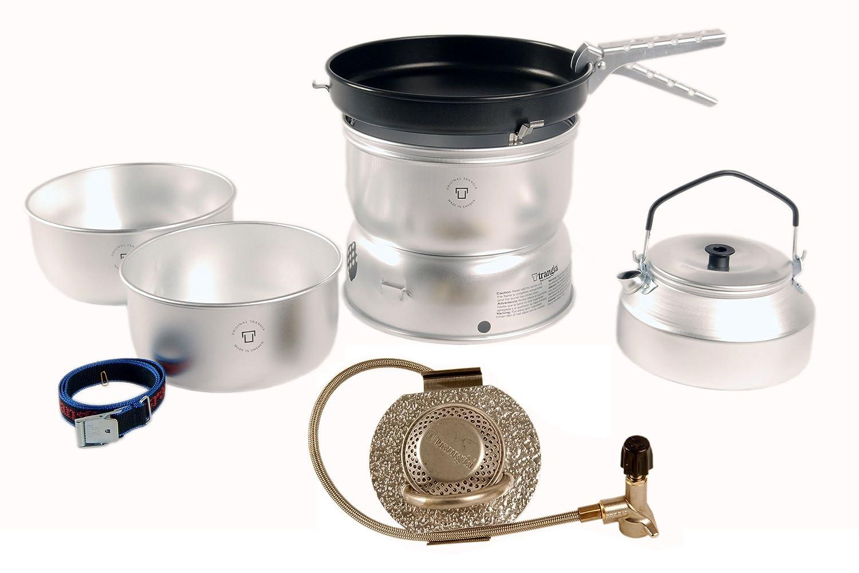 Gaskocherset, Campingkocherset, Kocherset, Sturmbrennerset, Sturmkocherset inkl. Tee- / Wasserkessel