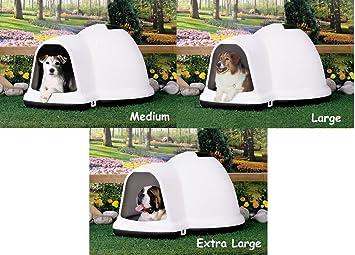 """Igloo – Caseta de perro petmate grande (43,75 """"x ..."""