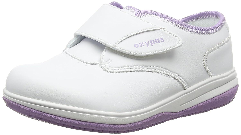 Oxypas Medilogic Emily White 15255 Slip-resistant, Antistatic Nursing Shoe, White Blanc (Lic), 6.5 UK (40 EU) Blanc (lic) 6d6494f - tbfe.space