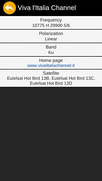 Viva tv frequency hotbird
