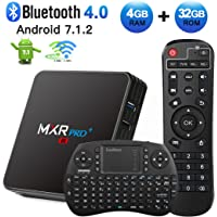 HAOSIHD MXR PRO Plus 4K 32GB Android TV Box w/ Remote Control & Mini Keyboard