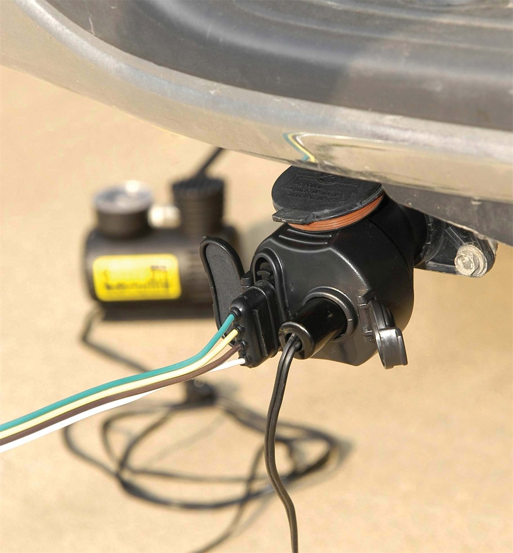 Hopkins 47675 Multi Tow 12 Volt Adapter Automotive Trailer Wiring Harness Converter Box