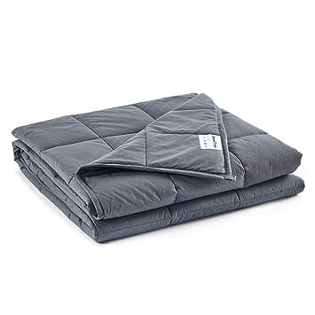 Amazon.com: Manta pesada para dormir caliente y frío, manta ...