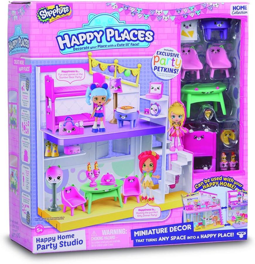 Happy luoghi Shopkins Camera da Letto e Sala da Pranzo Happy Studio