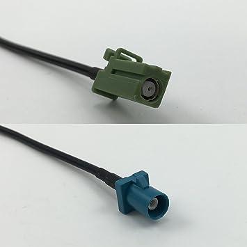 RG316 Avic Green - Cable Coaxial RF de Alta Calidad DE 50 Ohm ...