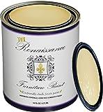 Renaissance Chalk Finish Paint - Naples Yellow 1 Pint (16oz) - Chalk Furniture & Cabinet Paint - Non Toxic, Eco-Friendly, Superior Coverage