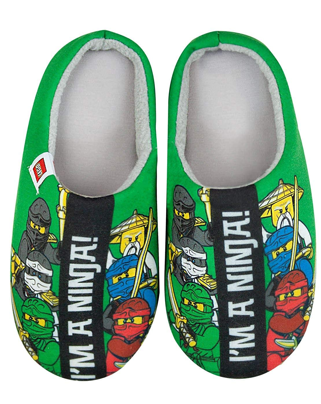 Lego Ninjago Im A Ninja Boys Slippers: Amazon.es: Zapatos y ...