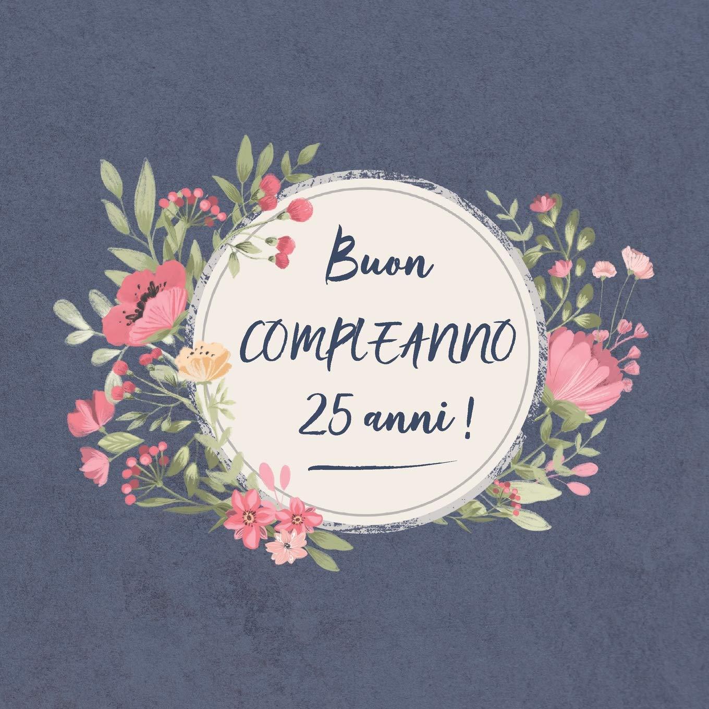 Super Buy Buon COMPLEANNO 25 anni !: Il mio bel libro degli ospiti: un NV23
