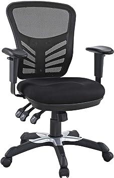 Modway Eei 757 Blk Articulate Ergonomic Mesh Office Chair In Black Furniture Decor Amazon Com