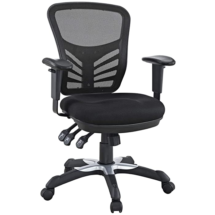 Top 10 Lexmod Articulate Black Mesh Office Chair