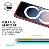 Goospery Pearl Jelly for Samsung Galaxy Note 8 Case (2017) Slim Thin Rubber Case (Red) NT8-JEL-RED