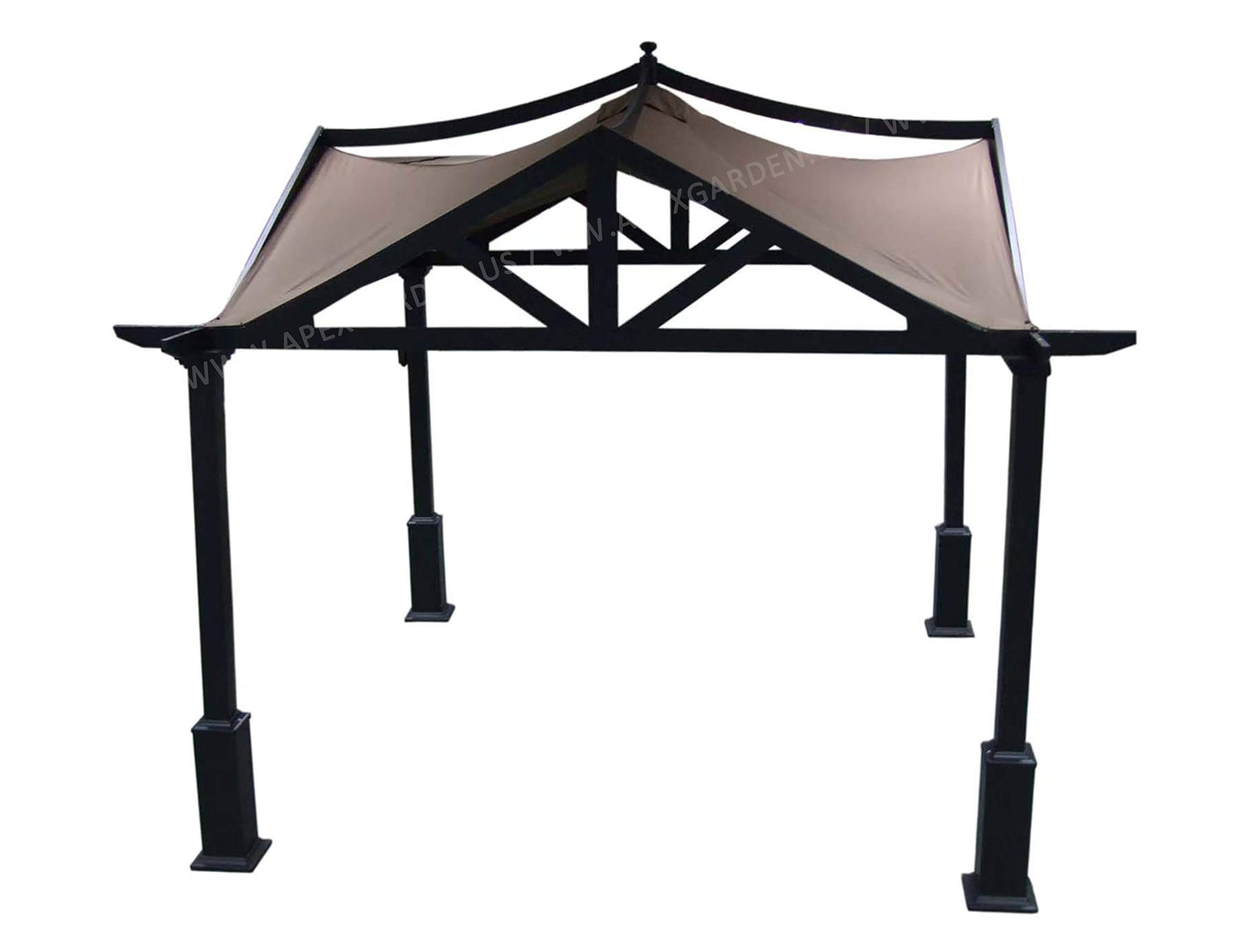 APEX GARDEN Replacement Canopy Top for Lowe's 10 ft x 10 ft Gazebo #GF-12S039B / GF-9A037X by APEX GARDEN (Image #3)