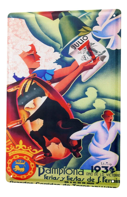 LEotiE SINCE 2004 Cartel Letrero de Chapa XXL Deco Ciudad ...