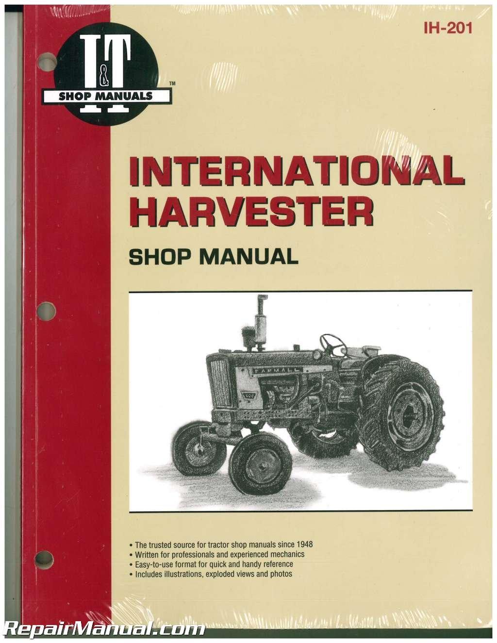 2504 International Harvester Tractor Technical Service Shop Repair Manual