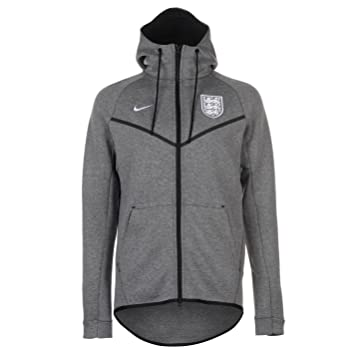 Tech Soccer Football Nike Fleece Mens England Grey Hoody Hoodie Bxxw5vqP