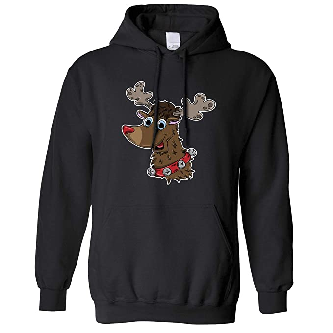 Tim and ted natale unisex con cappuccio drawn carino renna rudolph