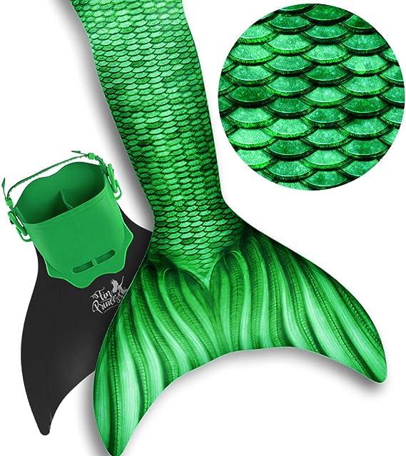 Amazon.com: Fin Princess cola de sirena para natación ...
