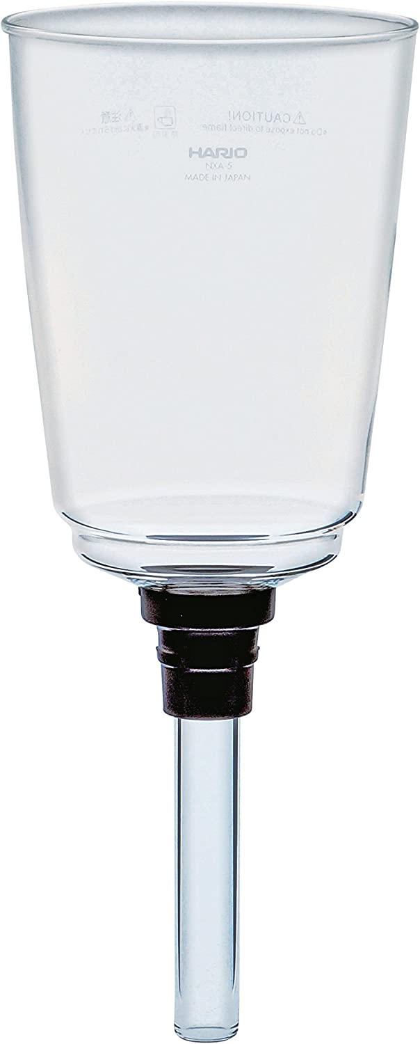 Hario Upper Bowl for Coffee Syphon NXA-5, 5 Cup, Transparent