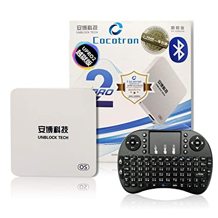 CocotronUS103 LA Centre Unblock Cocotron 2019 Latest unblock tech Root  Unrestricted Edition of China Mainland app UBOX6 GEN6 PRO2 i950 US Licensed