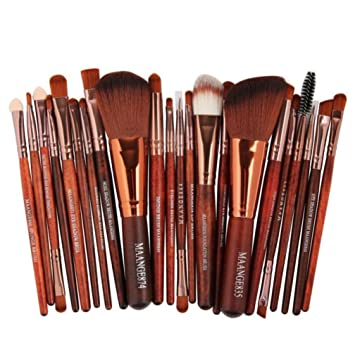 3c9c1d07982b Amazon.com: Unpara 22pc MAANGE Makeup Brush Blusher Eye Shadow ...