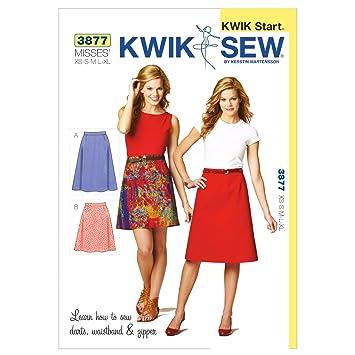 Kwik Sew Mustern K3877 Größe XS – klein – mittel – groß – Extra Groß ...