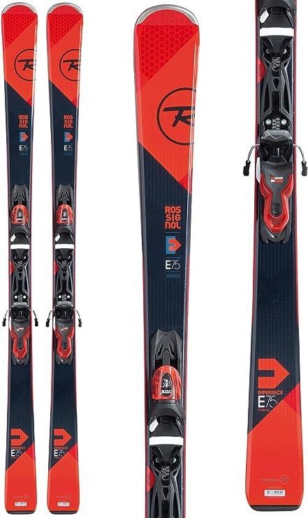 Rossignol – Pack esquí Experience 75 CA + fijaciones Xpress 10 B83 Black Red – Mixta – rojo, rojo: Amazon.es: Deportes y aire libre