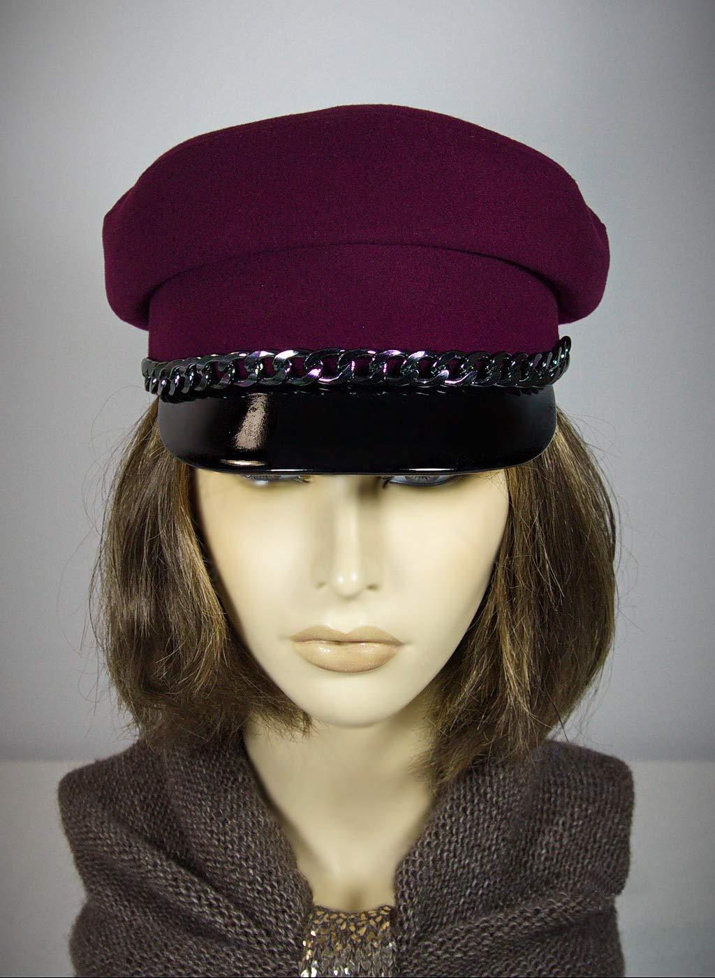 7032e980024 Breton hat cap with strap mariner breton cap baker jpg 1024x1400 John lennon  breton hat