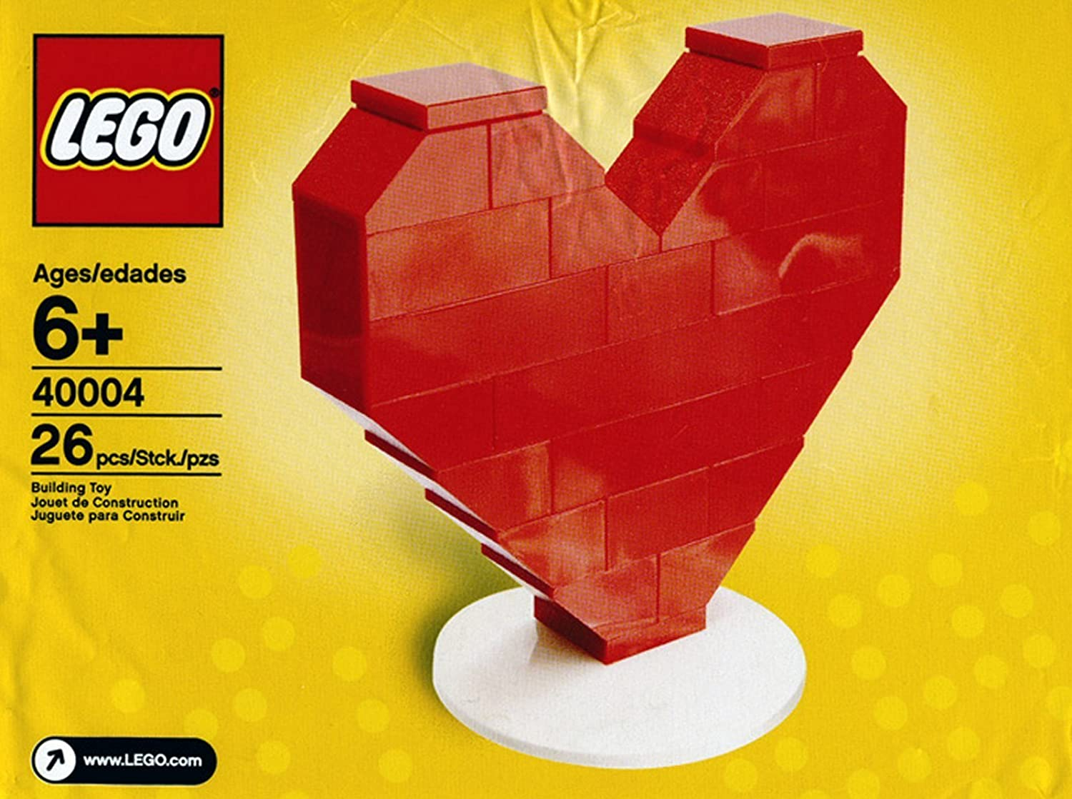 LEGO Red Heart Set