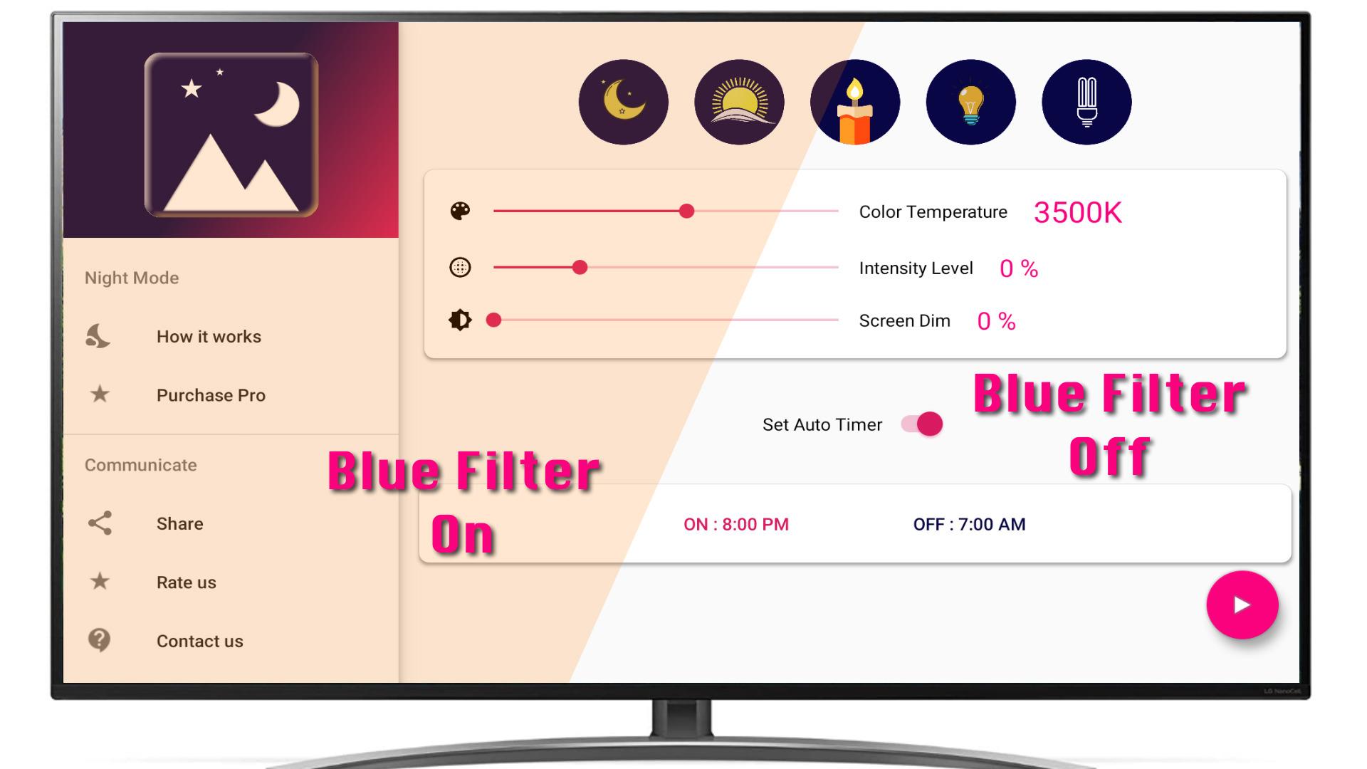 Happy Sleep - Blue light filter: Amazon.es: Appstore para Android